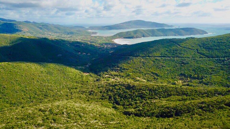 Elba Landschaft