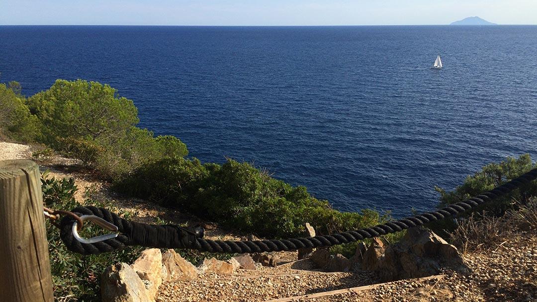 Aussicht Elba
