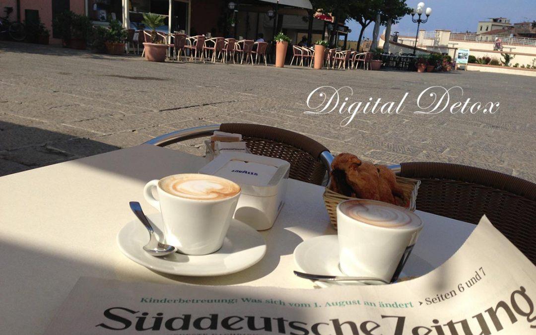Achtsamkeit als Gegenstück zur Digitalisierung auf Elba